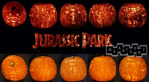 Jurassic Pumpkin by A--Anthony