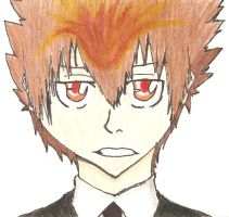 Dying Will Tsuna Colored by ChibiFox27