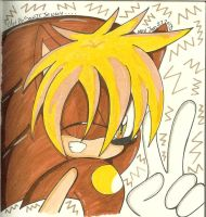 .:At:.Apollo the hedgehog by SONICJENNY