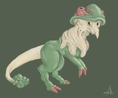 #286 The Mushroom Pokemon by tstroyerfosho