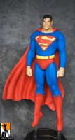 Superman Custom Statue by alkusyl