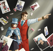 Apollo Justice: Ace Attorney by Arabesque91