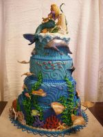 Atlantis Cake view 4 by The-EvIl-Plankton