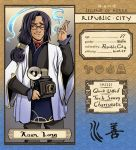 Xuan Long - Republic City App by oneoftwo