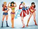 Lady Avengers by ArtistAbe