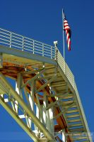 Rollercoaster's Flag by massivefocus