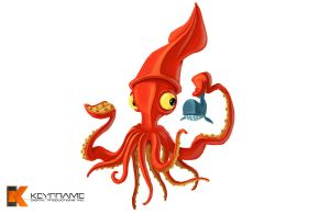 Giant Squid concept by Terryv83