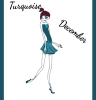 Turquoise - December by Winged-blackshell