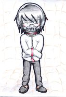 Commission - Jeff the Killer in Mental Asylum by Gray-Zakuro