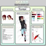 Fureat Reference Sheet by MulberryDreamer