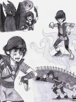 HTTYD: Waterbending collage by dreamer45