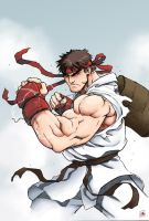 Ryu by MiaCabrera - Colors by Absalom7