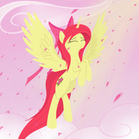 Apple Bloom The Alicorn by a-leksey