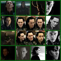Loki picture collage by wolfgirl501