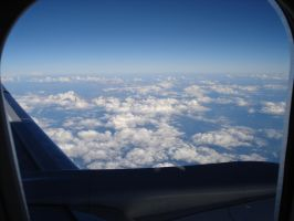 The Alpes from plane by seretur1
