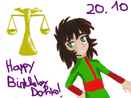 Happy Birthday Dohko! (20.10) by Grifessa
