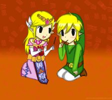 LOZ: pocky!! by acua-chan