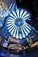 festival of lights sony center by Skanatiker