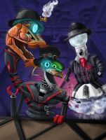 Steam Powered Mystery Science Giraffe Theater 3000 by Wonderwig
