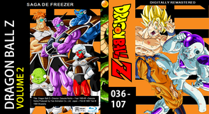 Dragon Ball Z Blu-ray cover Volume 2 by PhysicsAndMore