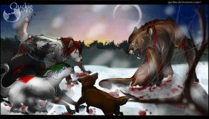 The battle by Quckie