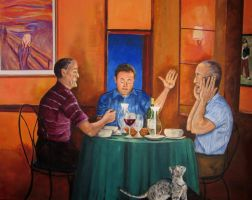 Supper at Emmaus by vinny53