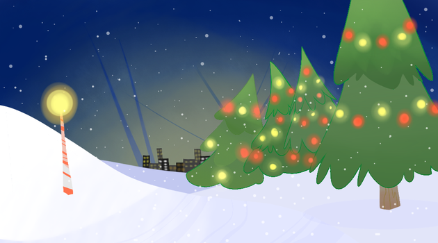 Christmas Background by TheLunaGlitch