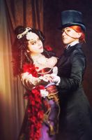 Trinity blood cosplay: Mary and Jane by alberti