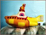 Yellow Submarine in drydock by SUDOR
