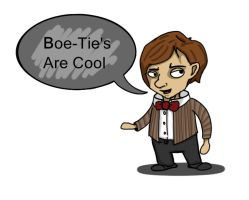 11th doctor-Bow Ties Are Cool by sheffspartan