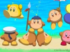 Waddle Dees! by clariecandy