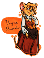 TGMD OC Series - Virginia Flaversham by Yaraffinity