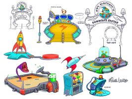 FunPark Space Theme by Miggs69