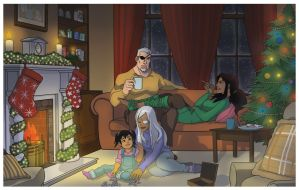 Christmas Eve with the Wilsons by VoxVulpina