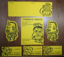 Graffiti Stickers #12 - Colab Set Ups by TNH-Ed-Hill