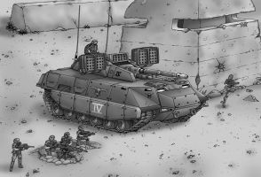 Velite IFV by Artraccoon