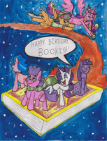 A Belated Bookish Birthday by Gojira007