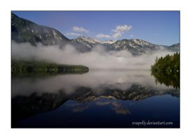 Lake Bohinj by EvaPolly