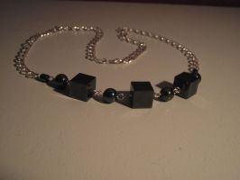 Necklace 9: Cubes by ShadeJewerly