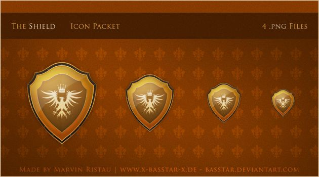 Shield Icon Packet by basstar by webgraphix