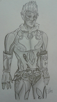 Kingdoms of Amalur Summer Fae Original Character by Tinalbion