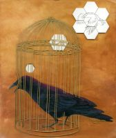 Caged Bird by J-Perkins