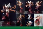 Mega Blaziken sculpture by Vitor-Silva