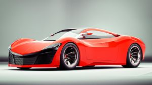 Mazda RX9 Front by Bazil14