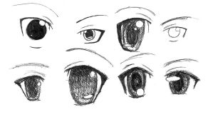 Practice Eyes by NaNaTheMangaCat