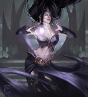 Liliana of the veil fanart by MaximeChiasson