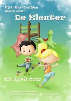 Toddler day Poster by NikiVandermosten