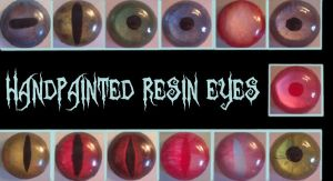 Resin Eyes by Radioactimals