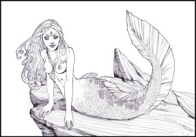 Mermaid by Lorrain
