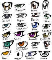 GX Eyes by THEChazzPrince